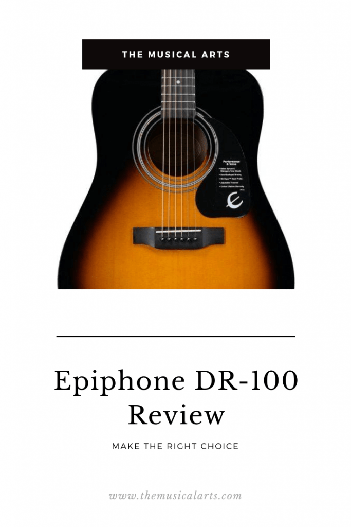 epiphone dr-100 review